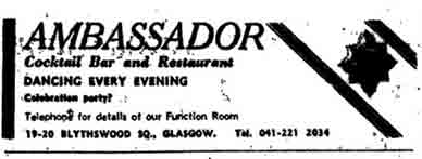 Ambasidor Advert 1970