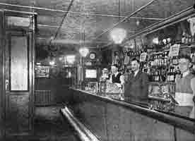 Interior view of the Argyll & Sutherland Bar