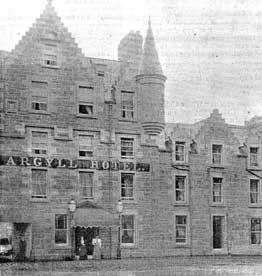 Agyll Hotel old 1896
