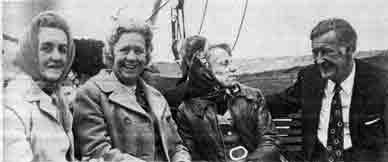 Mrs Kelly Mrs Dougall, Mrs Traill, Mr Stewart 1972