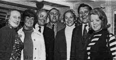Valerie Grant and members of the Ben 1972