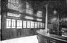 Interior view of Blackley's Bar High Blantyre