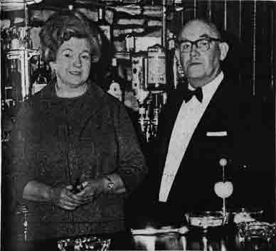 John Young and Mrs Young Buccleuch Hotel 1972