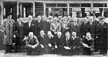 Customers and staff of the Cairns Bar 1950