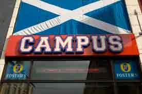 Campus sign 2008