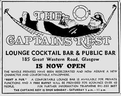 Captain's Rest advert 1977