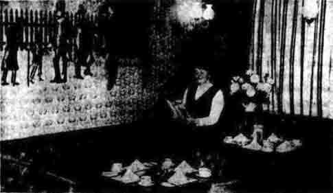Chess Boad interior 1970
