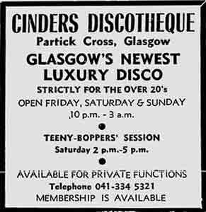 Cinders advert 1977