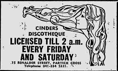 Cinders advert 1978