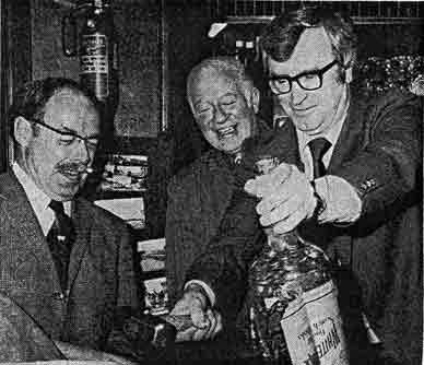 Jock Wallace at Clachan Paisley Road West 1978