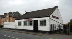 Side view of the Commerial Bar Blantyre