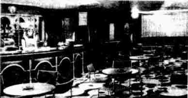 The County Roadhouse Springboig interior 1978