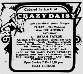 Crazy Daisy advert 1975