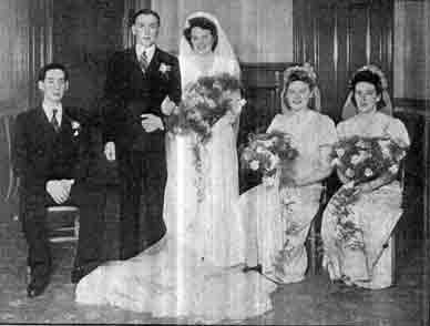 Mr David Ruxton Wedding 1946