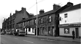 Shettleston Road with Deans Bar and the Town Tavern