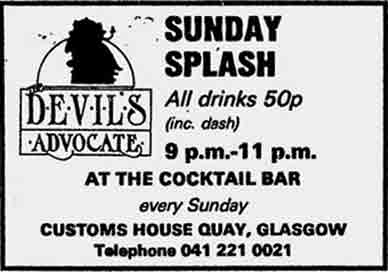 Devils Advocate advert 1983