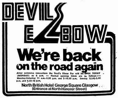 Advert for Devil's Elbow 1979