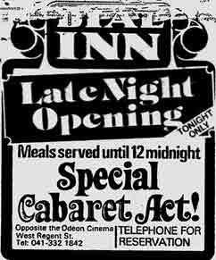 Dial Inn advert 1976