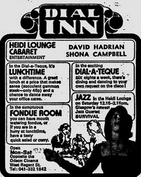 Dial Inn advert 1975