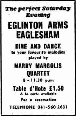 Eglinton Arms hotel 1971