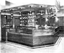 Interior of the Forge Bar