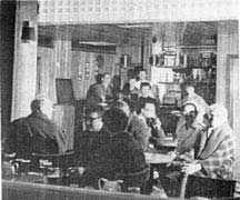 interior view of the Forge lounge