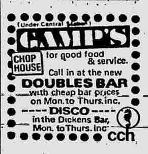 Gamps Advert 1972