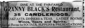 Granny Black's Advert