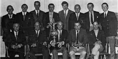 Guardian Golf Trophy winners 1972