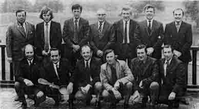 Guardian Trophy golfers 1974