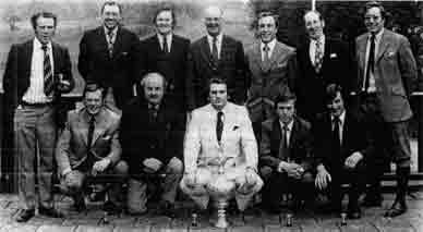 Guardian Trophy golfers winners 1974