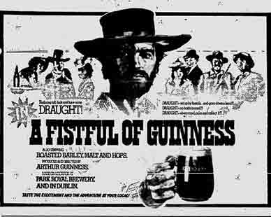 Guinness advert 1974