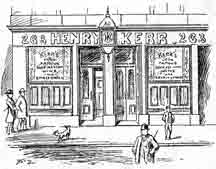 Exterior view of Kerr's Bar Duke Street