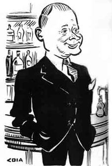 Cartoon of John E Jackson