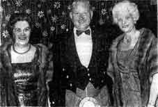 John E Jackson with his sister