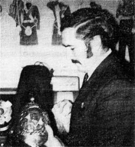 John Johnstone manager of the H.L.I. 1970