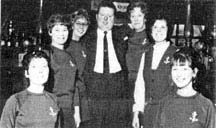 Gerald Doyle and staff