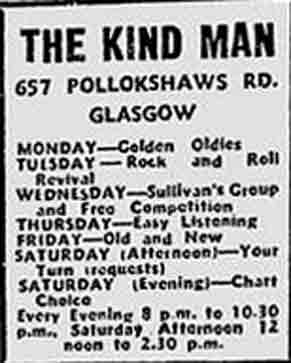 The Kind Man advert 1977