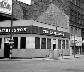 The Laurieston Bar 58 Bridge Street corner of Nelson Street Glasgow