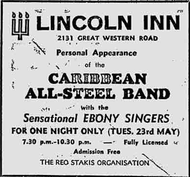 Lincoln Inn advert 1978