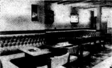 The Louden interior 1978
