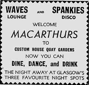 MacArthurs advert 1977
