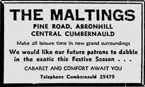 Maltings ad 1975