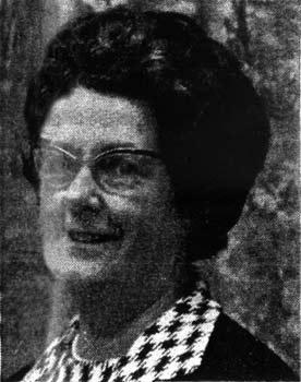 Mrs Margaret Dick 1970
