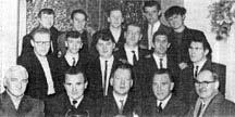 Molls Mire darts team 1965.