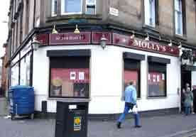 Molly's Bar Duke Street Glasgow 2008