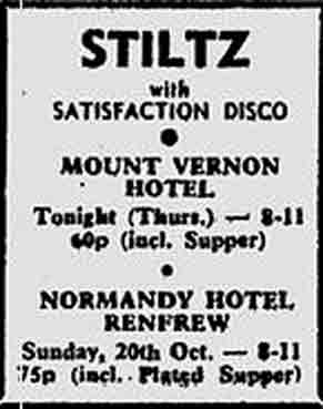 Mount Vernon Hotel advert 1974