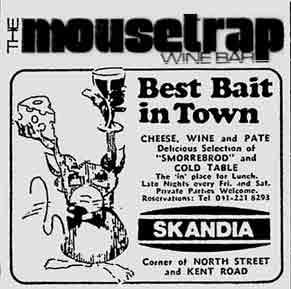Mousetrap advert 1976