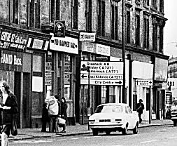 Exterior view of the Old Hampden Bar 18 Ballater Street