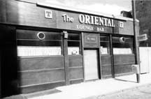 The Oriental Bar 1980s